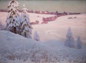Roman Bratkowski (1869 Lwów - 1954 Wieliczka), Hadle, 1911 r.