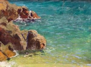 Roman Bratkowski (1869 Lwów - 1954 Wieliczka), Wybrzeże w Lovranie, ok. 1908 r.
