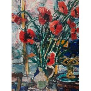 Zygmunt Menkes (1896 Lwów - 1986 Riverdale), Maki w wazonie