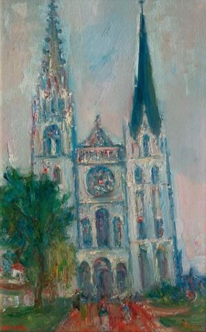 Jakub Zucker (1900 Radom - 1981 Nowy Jork), Katedra Notre-Dame de Chartres w Paryżu