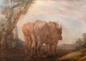Marcello Bacciarelli (1731 Rzym-1818 Warszawa), Studium wołów, ok. 1805 r.