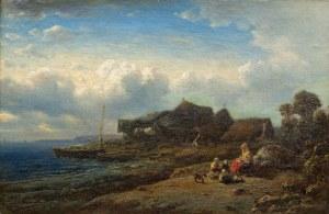 Eduard Hildebrandt (1817 Gdańsk-1868 Berlin), Przy brzegu