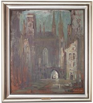 Marian Mokwa (1889 Malary - 1987 Sopot), Ulica w Gdańsku