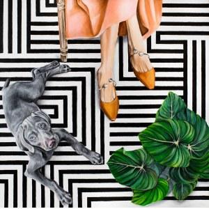Sławomir Setlak, Bursztynowe pantofelki, 2020