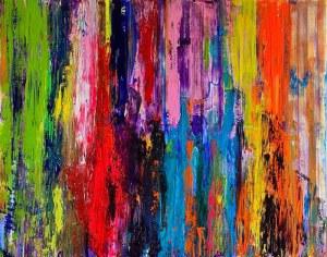 Gossia ZIELASKOWSKA (pseud.), Rainbow Waterfall, 2020 r.