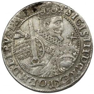 Zygmunt III Waza, Ort Bydgoszcz 1623 - rogi jelenia - BARDZO RZADKI