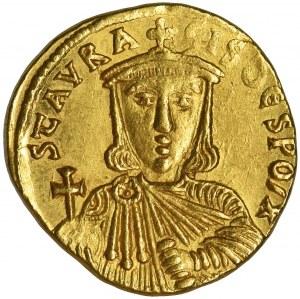 Cesarstwo Bizantyjskie, Nicephorus I, Stauracius, Solidus - RZADKI
