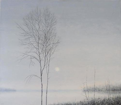 Rafał Borcz (1973), Drzewa na brzegiem (2016)