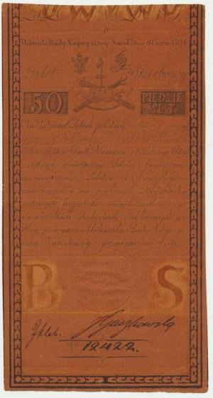 50 złotych 1794 - B -