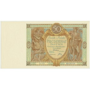 50 złotych 1929 - Ser.DV. -