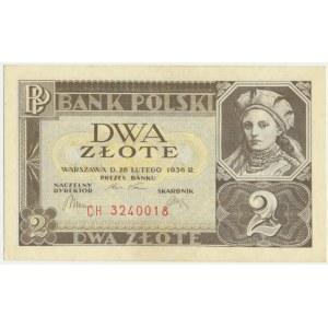 2 złote 1936 - CH -