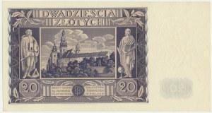 20 złotych 1936 - DT -