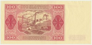 100 złotych 1948 - GC - BEZ RAMKI - Kolekcja Lucow