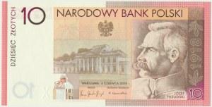 10 złotych 2008 - 90. Rocznica Odzyskania Niepodległości