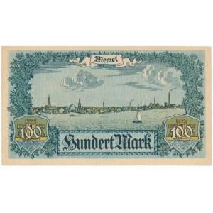Memel (Kłajpeda) 100 marek 1922