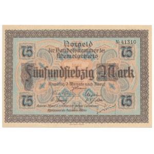 Memel (Kłajpeda) 75 marek 1922