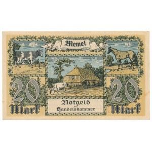Memel (Kłajpeda), 20 marek 1992