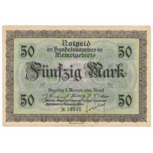 Memel (Kłajpeda), 50 marek 1922