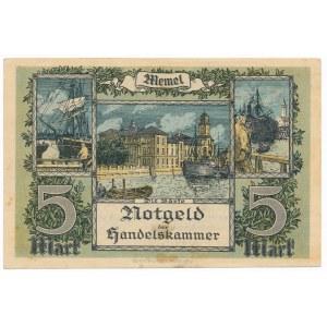 Memel (Kłajpeda), 5 marek 1922