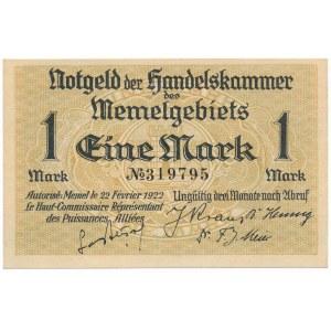 Memel (Kłajpeda), 1 marka 1922