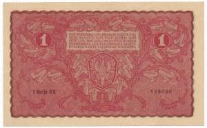 1 marka 1919 - I Serja CE -