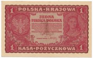 1 marka 1919 - I Serja DB -