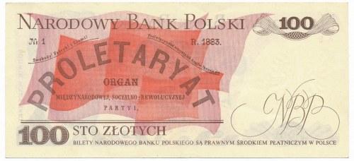 100 złotych 1975 - AB -