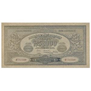 250.000 marek 1923 - AT - numeracja wąska