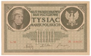1.000 marek 1919 - Ser. M -