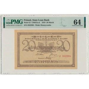 20 marek 1919 - J - PMG 64 - PIĘKNY