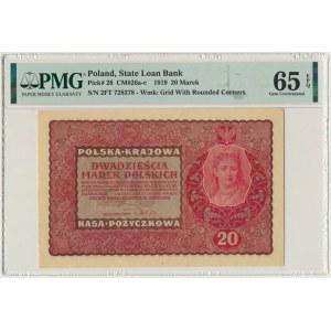 20 marek 1919 - II Serja FT - PMG 65 EPQ