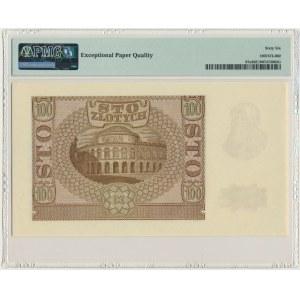 100 złotych 1940 ZWZ - B - PMG 66 EPQ