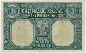 500 marek 1919 Dyrekcja