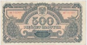 500 złotych 1944 ...owe - BH -