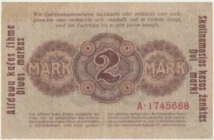 Kowno 2 marki 1918 - A -