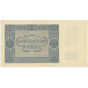 5 złotych 1940 - A -