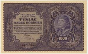 1.000 marek 1919 - II Serja AQ - bardzo ładny