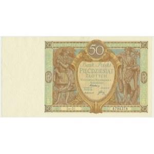 50 złotych 1929 - Ser.DI. -