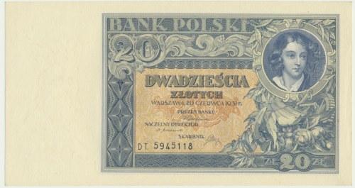20 złotych 1931 - D.T -