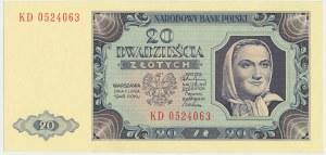 20 złotych 1948 - KD -