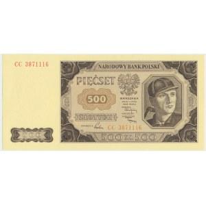 500 złotych 1948 - CC -