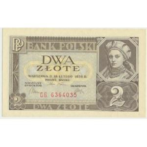 2 złote 1936 - CG -