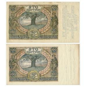 Zestaw banknotów 100 złotych 1932(4) - okolicznościowe (2szt.)