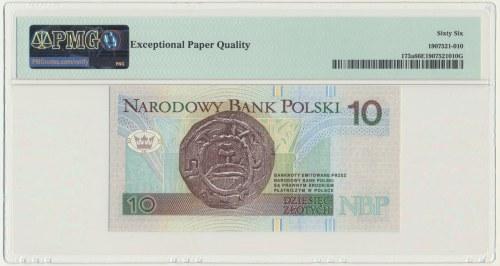 10 złotych 1994 - YE - PMG 66 EPQ