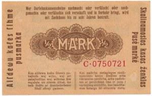 Kowno 1/2 marki 1918 - C -