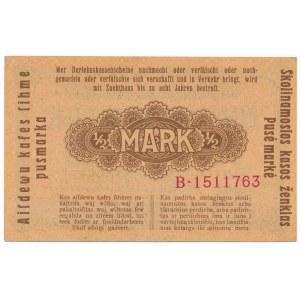 Kowno 1/2 marki 1918 - B -