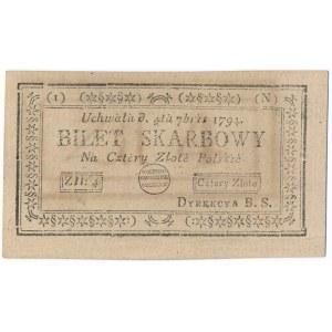 4 złote 1794 (1)(N)