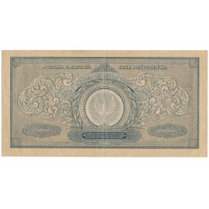 250.000 marek 1923 - CC - numeracja szeroka