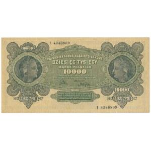 10.000 marek 1922 - I -
