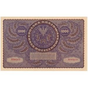 1.000 marek 1919 - II Serja G -